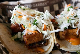 Sexy tofu tacos