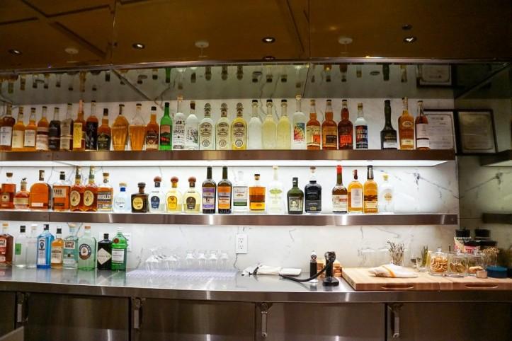 Backlit bar